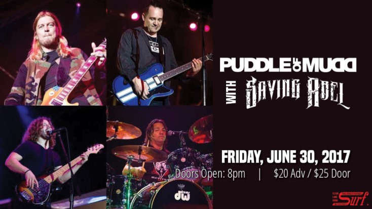 Puddle of Mudd with Saving Abel